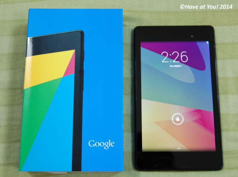Nexus 7 with box