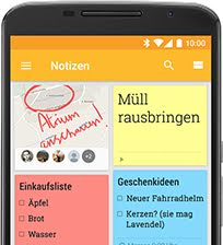 Notizen screenshot