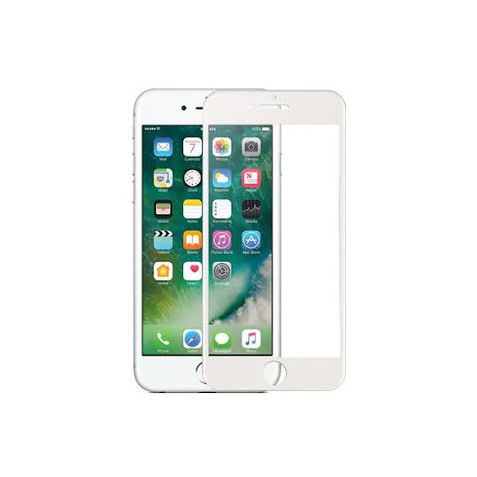 Racing Shield Nanoglass iPhone 7/8, White