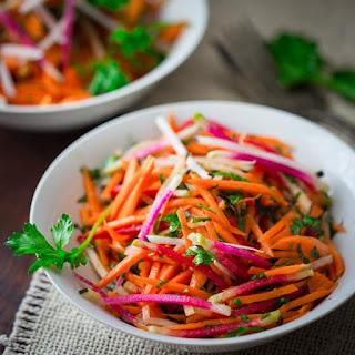 Ginger Carrot Radish Salad Recipe