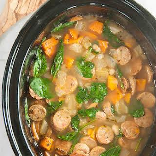 White Bean Soup Crock Pot Recipes.