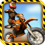 MX Dirt Bike Motorcycle Riding Icon