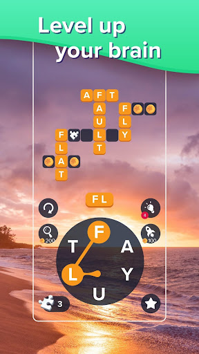 Puzzlescapes: Relaxing Word Puzzle & Spelling Game filehippodl screenshot 3