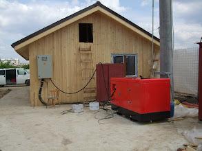 Photo: Generator Yanmar 35 kva, Santier Brancusi, Bucuresti