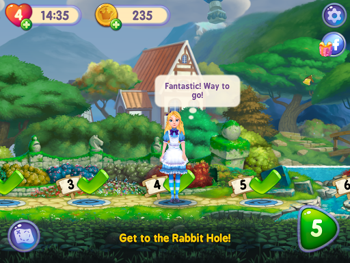 WonderMatchu2122uff0dMatch-3 Puzzle Alice's Adventure 2020 2.2 screenshots 16