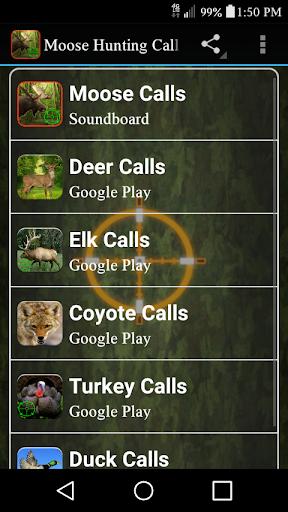 麋鹿狩猎电话