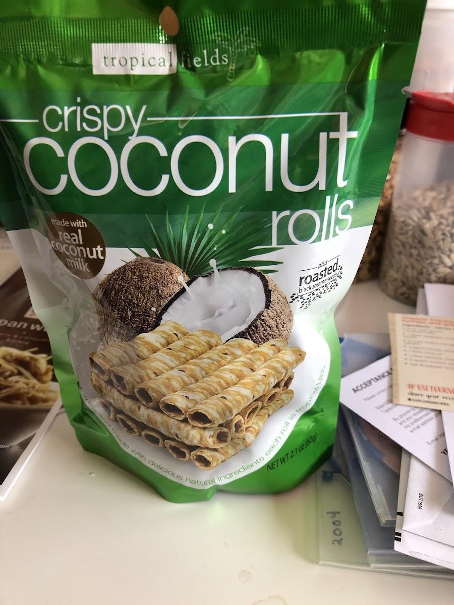 Crispy Coconut Rolls