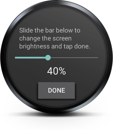 Brightness For Android Wear
