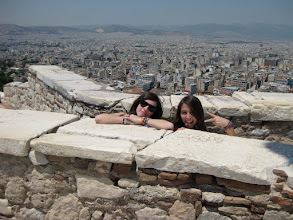 Photo: Catch a full city view from the top of the Acropolis!