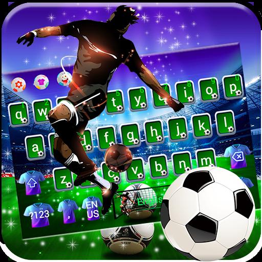 Football Superstar Glitter Keyboard Theme Apps Bei Google Play
