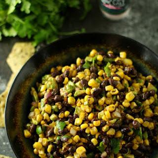 Corn Black Bean Avocado Salsa.