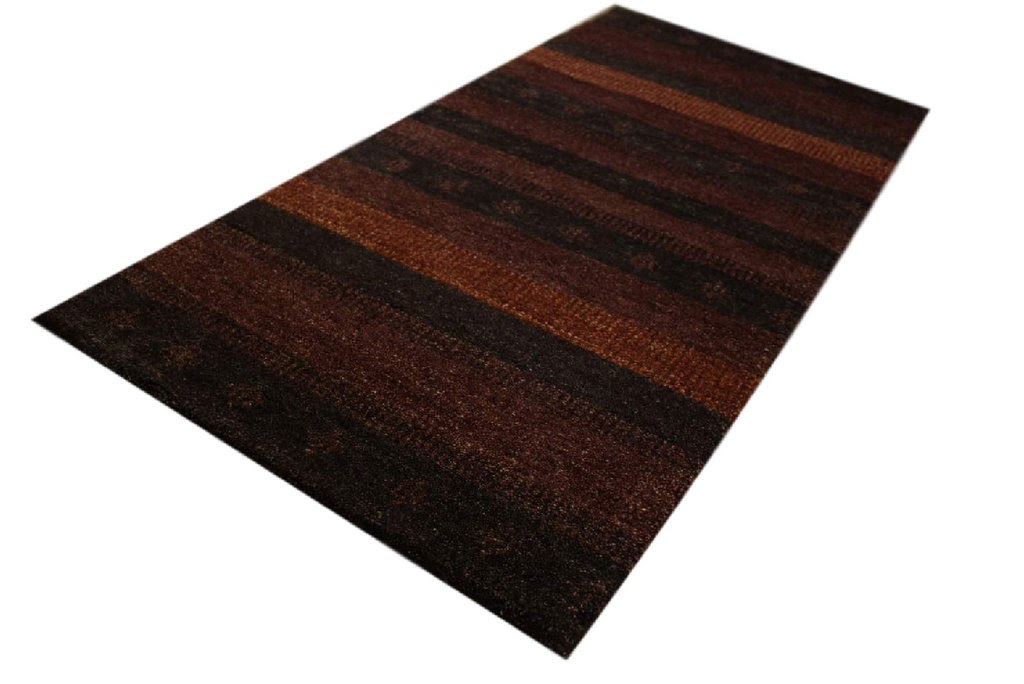 dywan gabbeh excellent wełna argentyńska brązowy 70x140cm