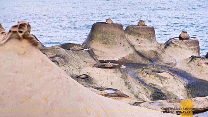 Yehliu Geopark Candle Rocks
