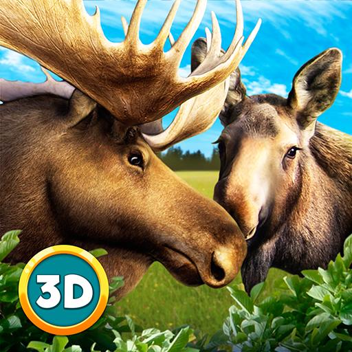 Moose Arctic Survival: Elk Sim