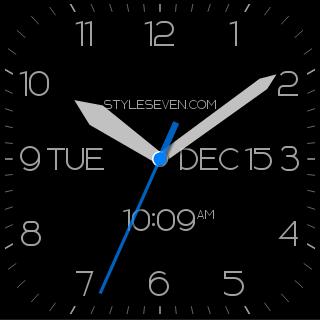 玩工具App|Modern Analog Clock AW-7免費|APP試玩