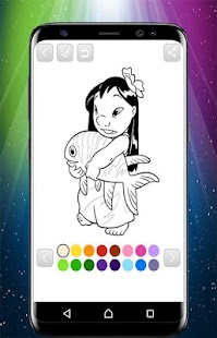 Lilo and Stitch Coloring Book - náhled