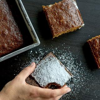 Fresh Ginger Root Cake.