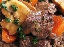 Crock Pot Beef Burgundy Recipe
