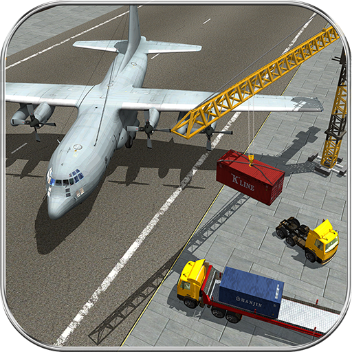 US Airplane Cargo Transporter