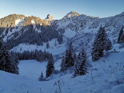 Grubereck (von Kreuth) hike - Dec 19