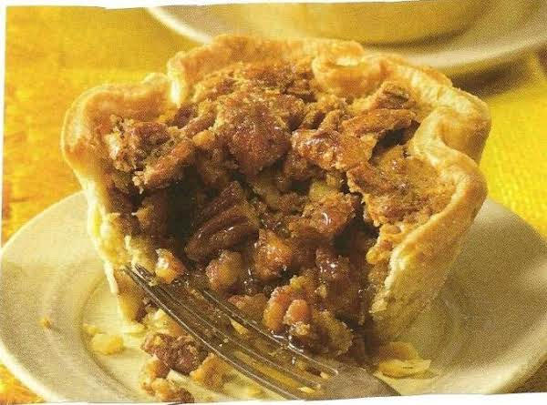 The Not Too Sweet Southern Pecan Pie