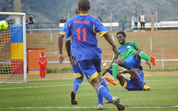 Photo: Kei Kamara [Leone Stars v Swaziland 18 May 2014 (Pic: Darren McKinstry)]