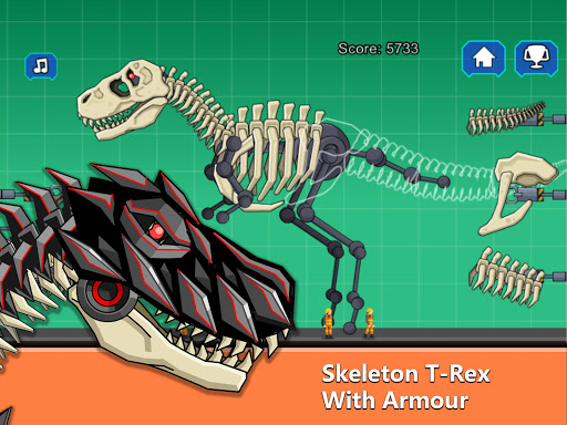 T-Rex Dinosaur Fossils Robot Age  {cheat|hack|gameplay|apk mod|resources generator} 5