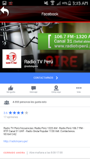 Radio Tv Peru- screenshot thumbnail