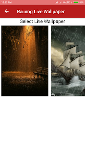 Raining Live Wallpaper - náhled