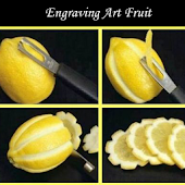 Engraving Art Fruit