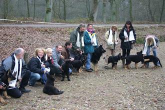 Photo: A-team wandeling dec. 05! De1ste ODH wandeling!