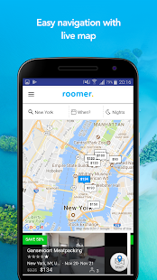 Roomer Travel: miniatura de captura de pantalla