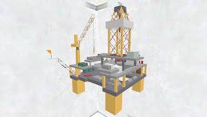 Oil platform 石油プラットフォーム