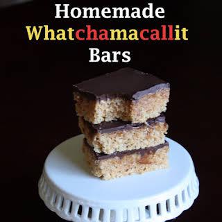 Homemade Whatchamacallit Bars (Peanut Butter, Caramel Chocolate Bars).