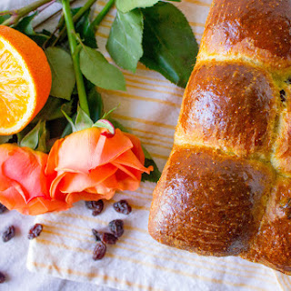 Cinnamon Orange Raisin Brioche