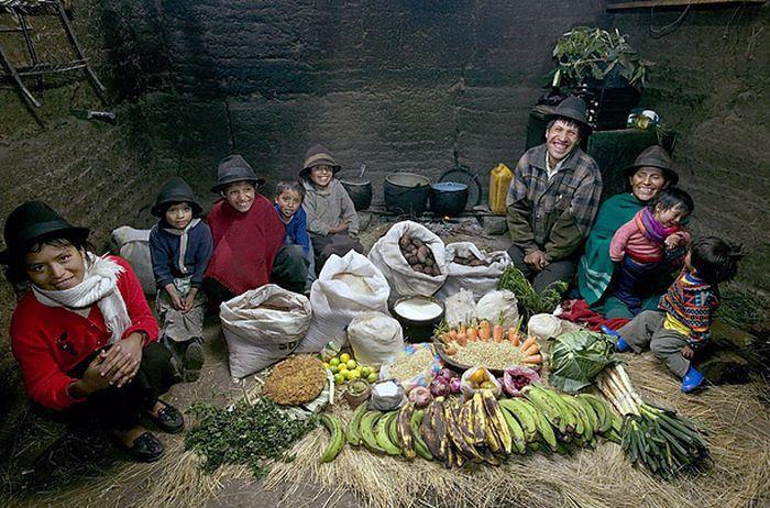 xeEvzkRG120JW6pgFBP8SM4Vw31RLWvYp6eAxY2 nbE=w700 h462 no - Недельный запас еды для семьи в разных странах мира (фото)