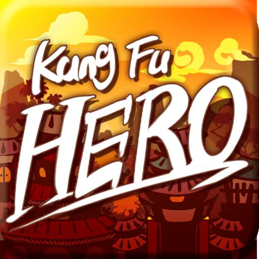动作のKungFu Hero LOGO-記事Game