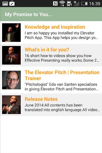 【免費通訊App】Elevator Pitch-APP點子