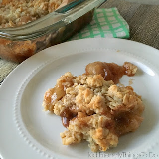 Old Fashioned Oatmeal Apple Crisp
