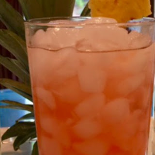 Sunset Rum Punch.