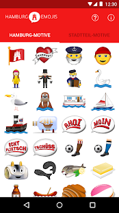 Hamburg Emojis- screenshot thumbnail