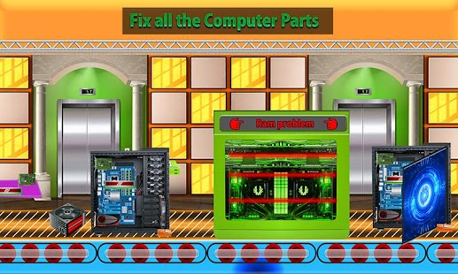Computer Assembling Factory: Builder & Fix It Game- screenshot thumbnail