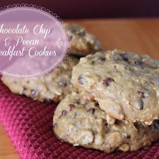 Pecan and Chocolate Chip Breakfast Cookies