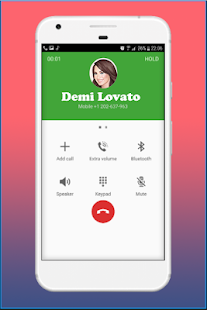 Call from Demi Loυato - Prank - náhled