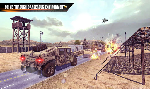 Us Army Truck Driving : Real Army Truck for PC