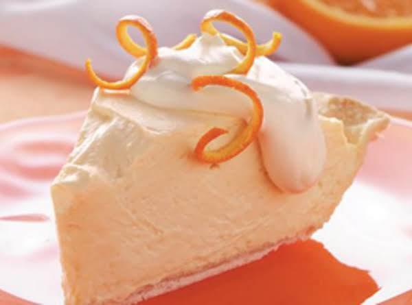 Orange Velvet Pie