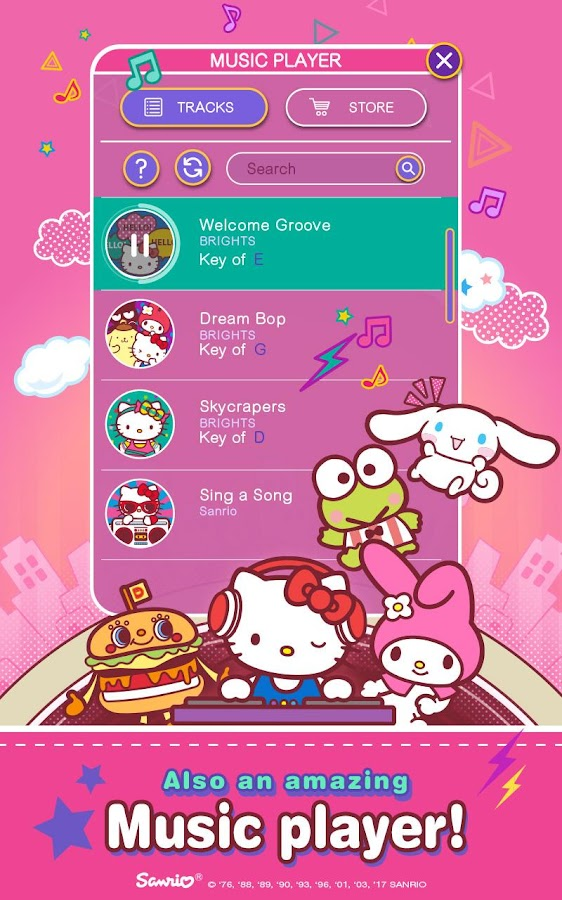 Hello Kitty Music Party- screenshot