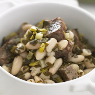 Braised Lamb with Cannelini Beans and Parsley