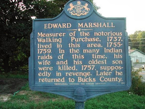 Photo: Historical markers like this are located all along the trail.