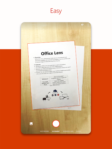 Office Lens screenshot 11